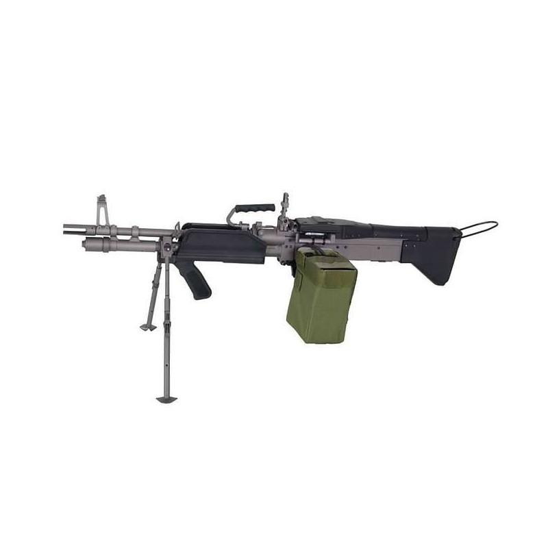 Fusil apoyo airsoft MK43 A&K