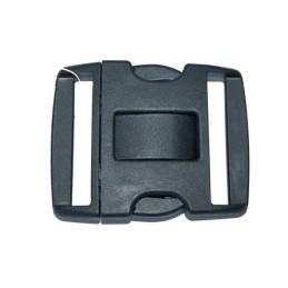 Hebilla PVC de seguridad negra