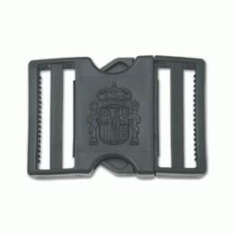 Hebilla PVC Constitución negra
