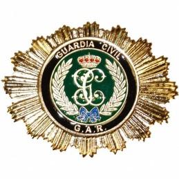 Placa cartera metálica Guardia Civil GAR