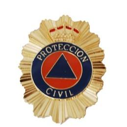 Placa cartera Protección Civil