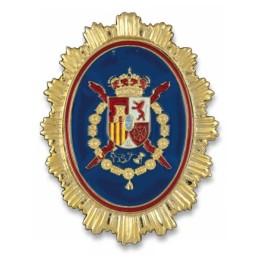 Placa cartera metálica Guardia Real