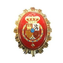 Placa cartera metálica Guardia Real nueva