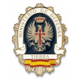 Placa cartera metálica Ejército Tierra
