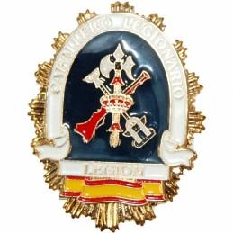 Placa cartera metálica Legión