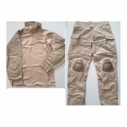 Uniforme combat Navy Seal 3D sand tan