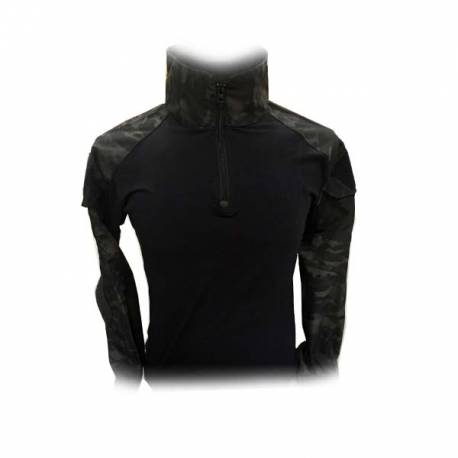 Camiseta combat multicam black