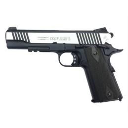 Pistola CO2 Colt 1911 rail dual tone
