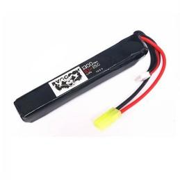Batería li-po 11,1 V 1300 mAh 25C tubo