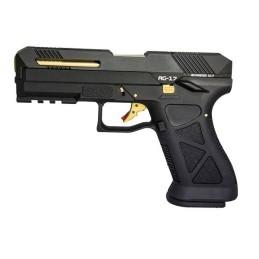 Pistola GBB AG-17 negra HG182ASB-C