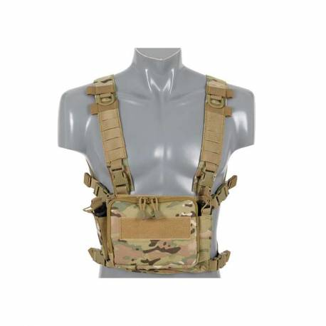 Chaleco chest rig compact multi-mission tan