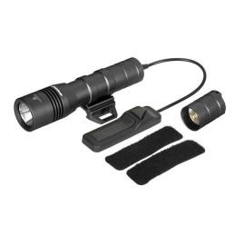 Linterna con pulsador 502R negra