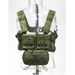 Mini chest rig verde