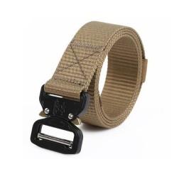 Cinturón C-Buckle 125 cm tan
