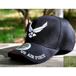 Gorra beisbol Air Force negra