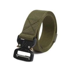 Cinturón C-Buckle 125 cm verde