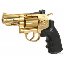 Revólver CO2 Dan Wesson gold 2,5'' ASG