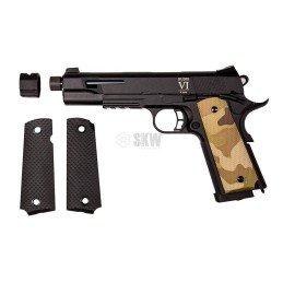 Pistola CO2 Rudis Custom VI Multicam Secutor