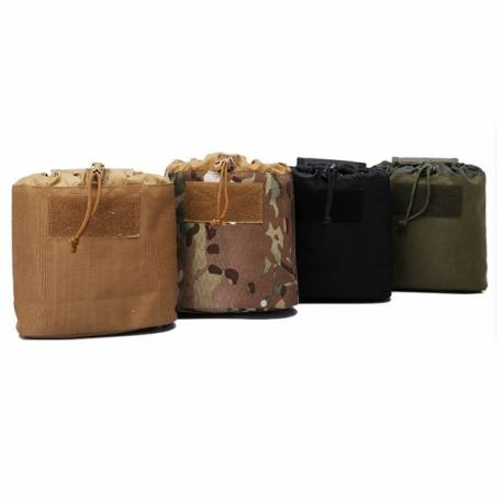 Bolsa descarga o recicladora plegable tan
