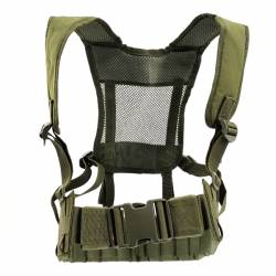 Chaleco molle first line verde