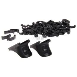 Pack 72 cubrerailes negros