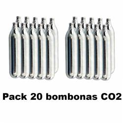 Pack 20 bombonas CO2