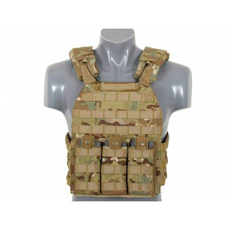 Chaleco First Defense Plate Carrier multicam black