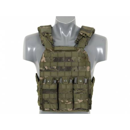 Chaleco First Defense Plate Carrier tan