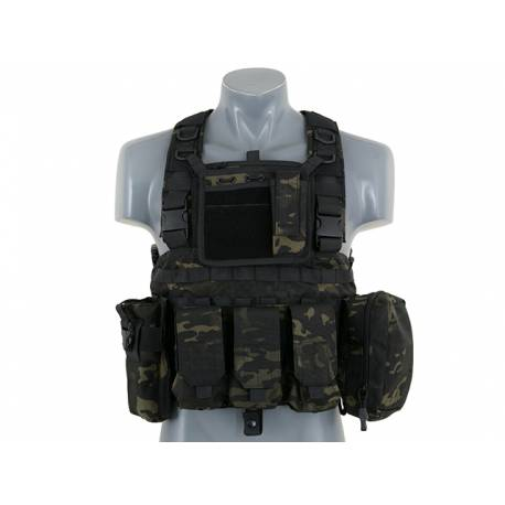 Chest harness Force Recon multicam black