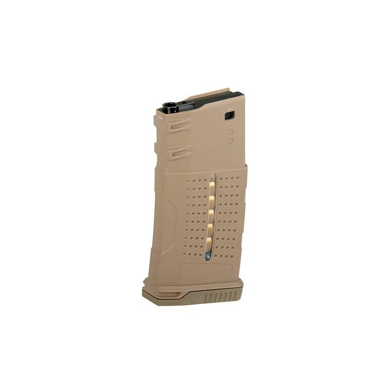 Cargador mid-cap 220 bbs SR25/AR-10 tan