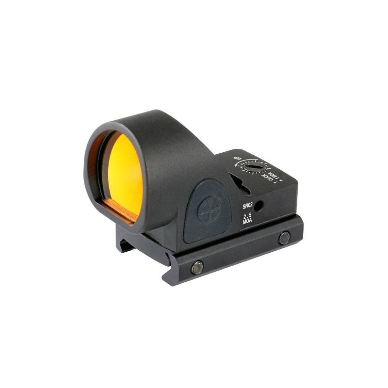 Red dot reflex sight negro pistol RMR