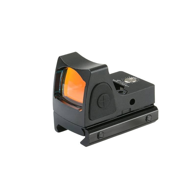 Red dot mini reflex sight negro