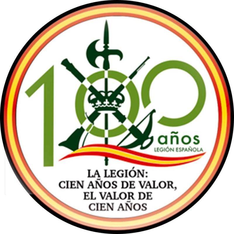 Parche 100 aniversario Legión Española